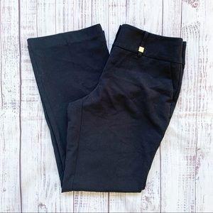 Anne Klein Black Straight Leg Dress Pants 6P
